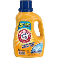 Arm & Hammer  Clean Burst Scent Laundry Detergent  Liquid  50 oz.