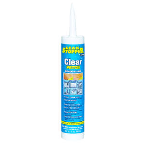 Leak Stopper  Gloss  Clear  Rubber  Roof Patch  10.1 oz.