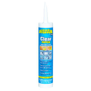Leak Stopper  Gloss  Clear  Rubber  Leak Stopper Roof Patch  10.1 oz.