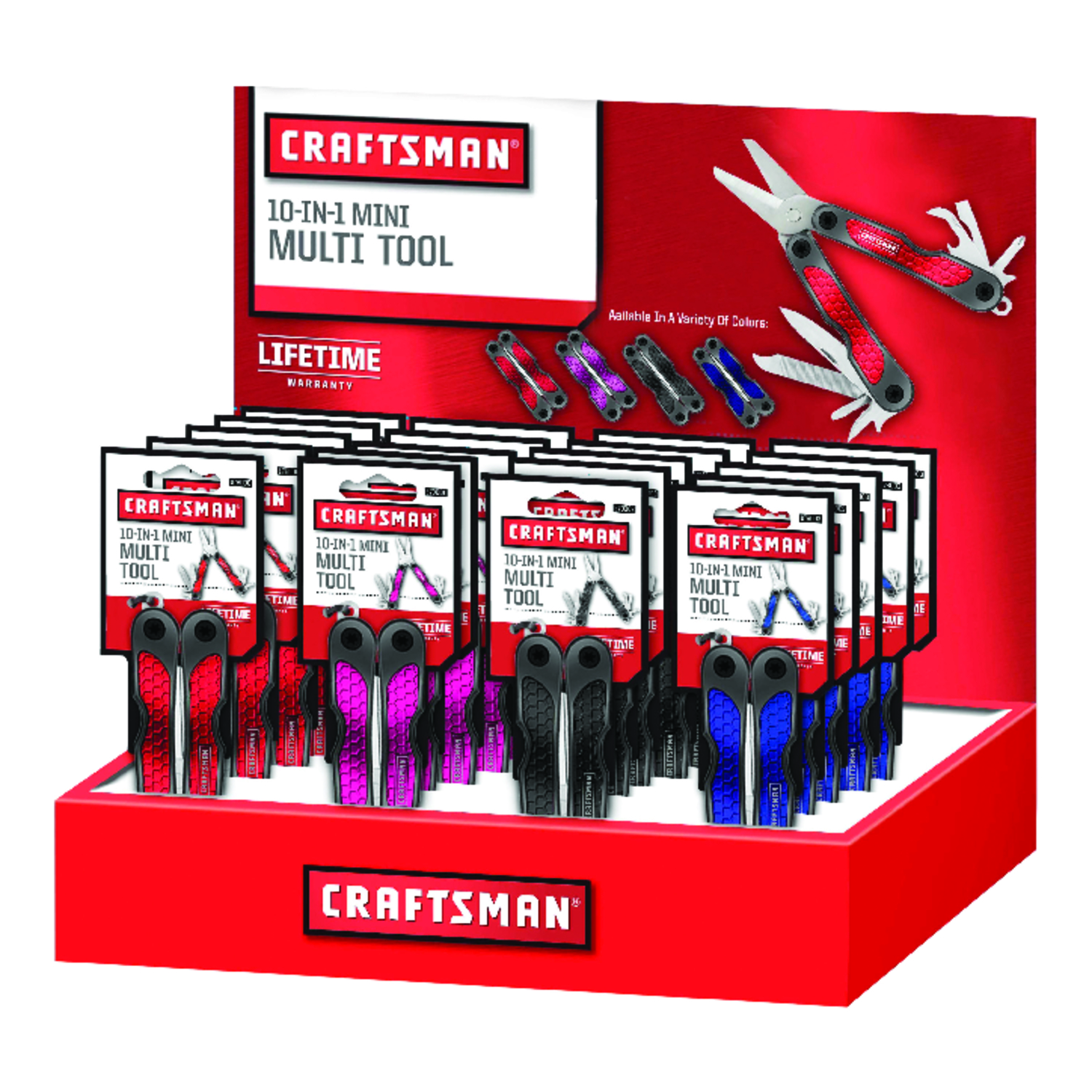 Craftsman  1 pc. Multi-Tool  Red