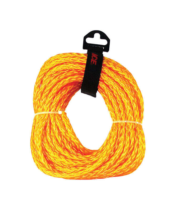 Ace  3/8 in. Dia. x 50 ft. L Braided  Poly  Rope  Gold