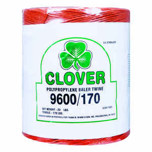 Clover  9600 ft. L Orange  Poly  Twine