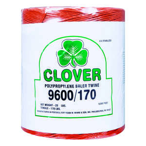 Clover  9600 ft. L Poly  Twine  Orange