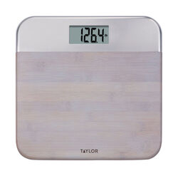 Taylor  440 lb. Digital  Bathroom Scale  Gray