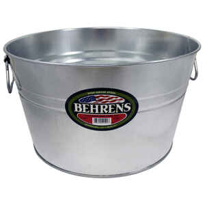 Behrens  5 gal. Steel  Multi Purpose Flexi-Tub  Round