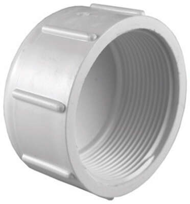Charlotte Pipe  Schedule 40  1-1/2 in. FPT   PVC  Cap