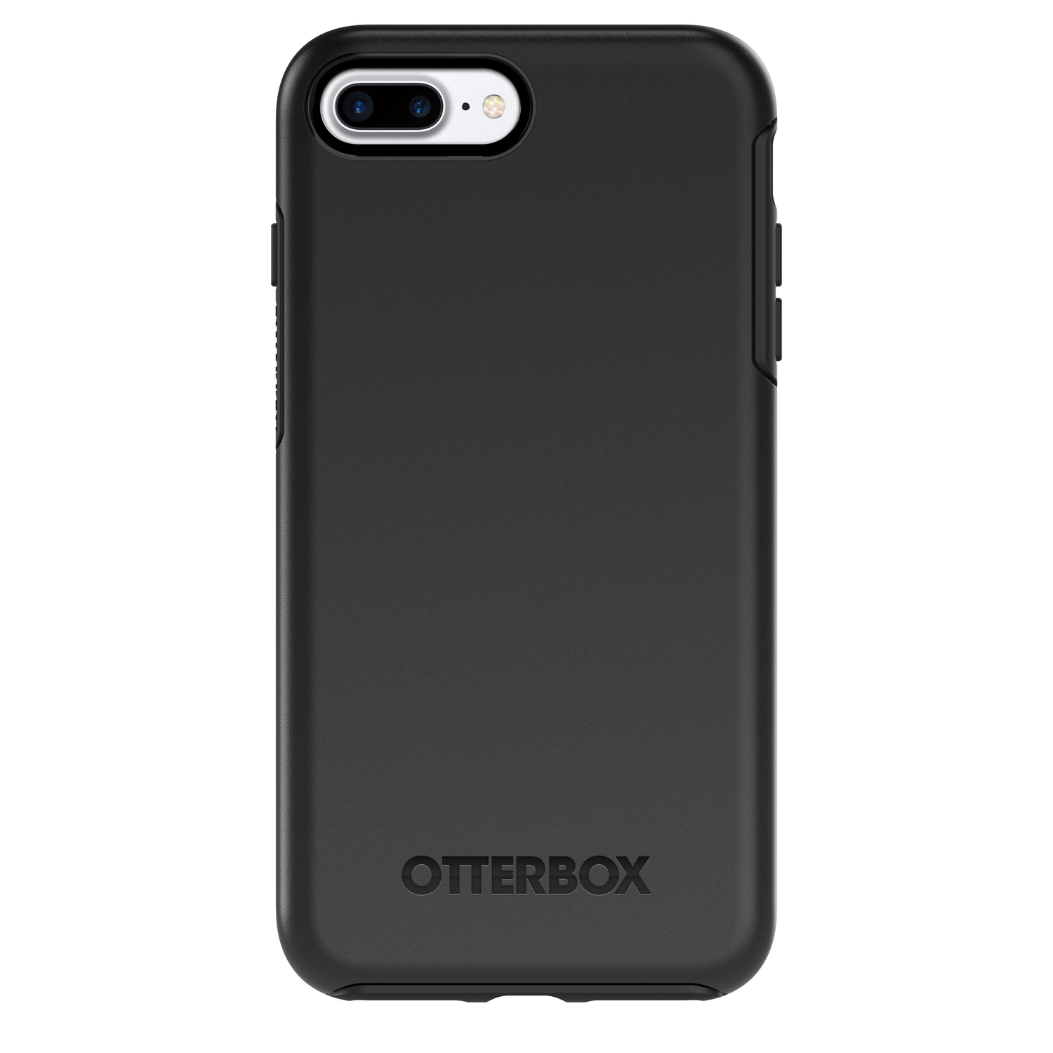 Otter Box  Symmetry  Black  Cell Phone Case  For Apple iPhone 7 Plus