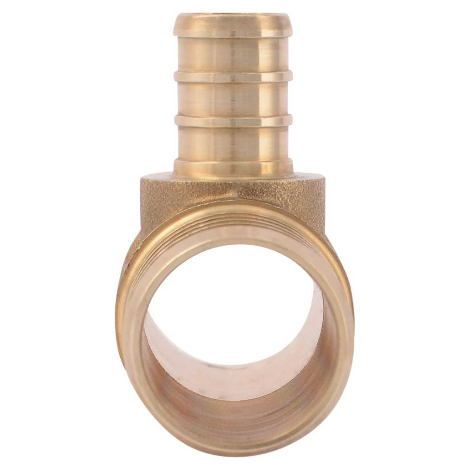 SharkBite  1 in. PEX   x 1 in. Dia. PEX  Brass  Reducing Tee