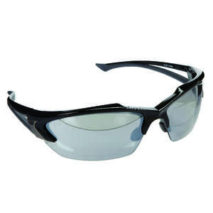Edge Eyewear  Safety Glasses  Clear  Black