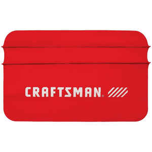Craftsman  Black  Fender Cover  1 pk
