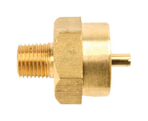 Mr. Heater  Brass  FPT x MPT  Cylinder Adapter
