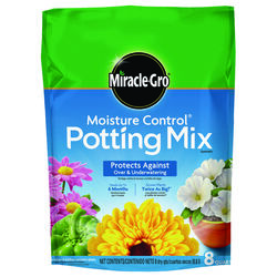 Miracle-Gro  Moisture Control  Potting Mix  8 qt.
