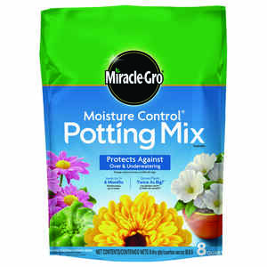Miracle-Gro  Potting Mix  8 qt.