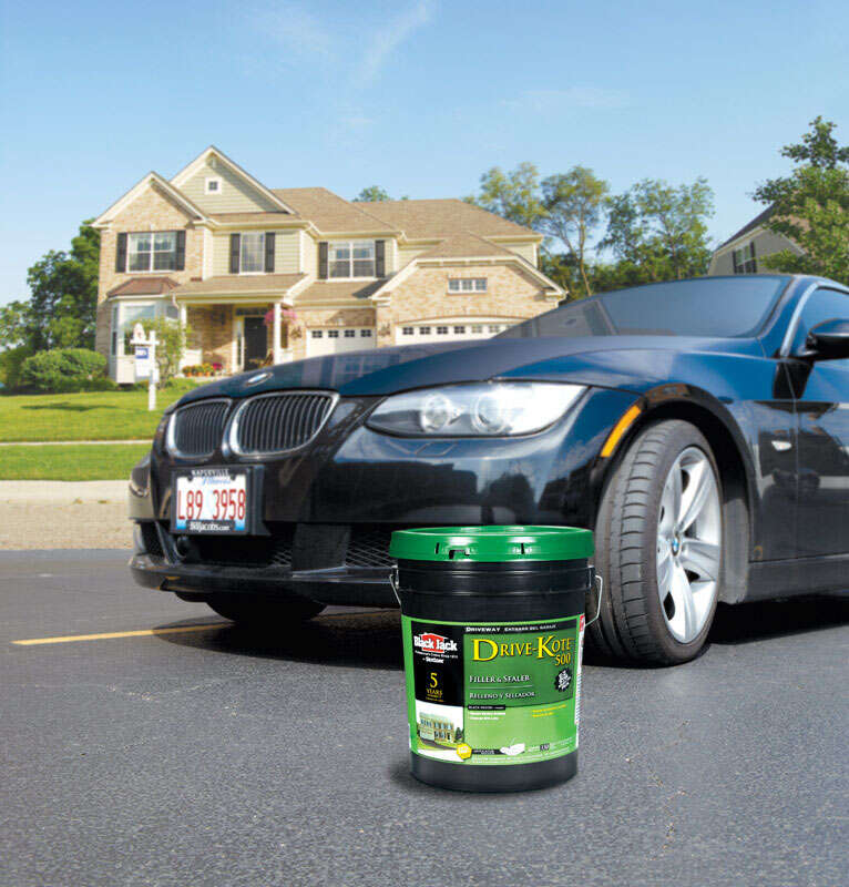 Black Jack  Matte  Black  Latex  Rubberized Asphalt  Driveway Sealer  4.75 gal.