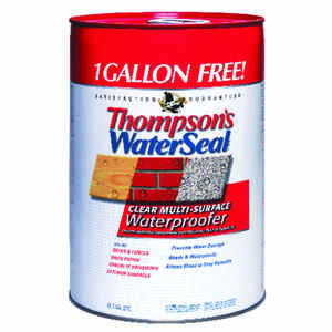 Thompson's Waterseal  Smooth  Clear  Water-Based  6 gal. Multi-Surface Waterproofer