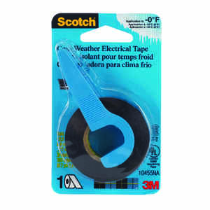 Scotch  3/4 in. W x 350 in. L Black  Vinyl  Electrical Tape