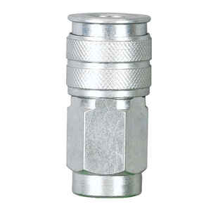 Craftsman  Stainless Steel  Quick Connect Coupler  1/4 in. Male  1 pc.
