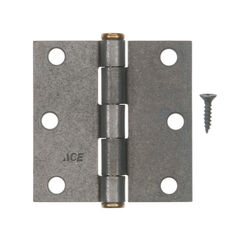 Ace  3 in. L Galvanized  Residential Door Hinge  1 pk