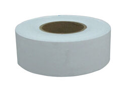 C.H. Hanson  300 ft. L x 1.2 in. W Plastic  Flagging Tape  White