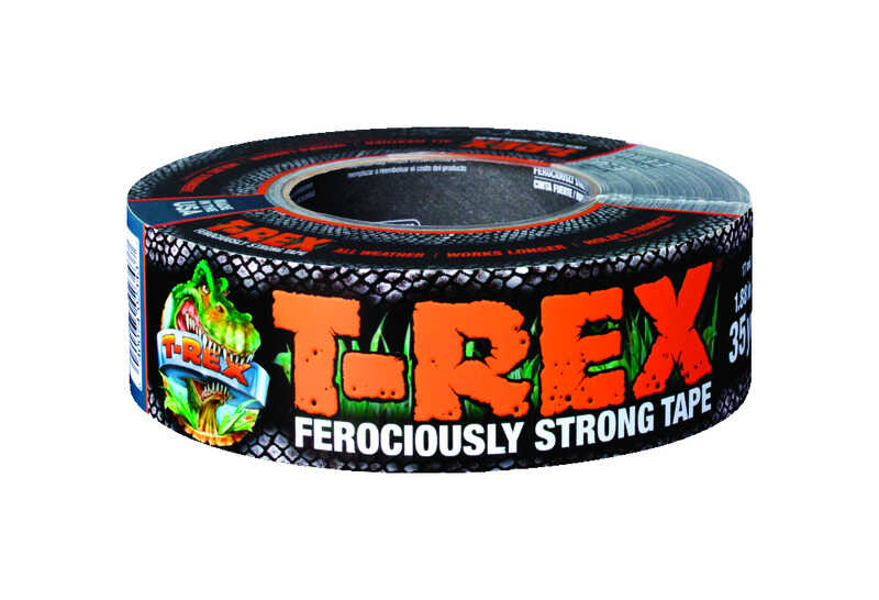 t rex 105 ft l x 1 88 in w gray duct tape ace hardware
