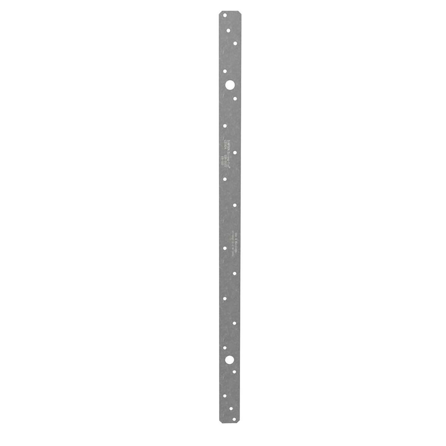 Simpson Strong-Tie 24 in. H x 1.25 in. W 20 Ga. Galvanized Steel Strap