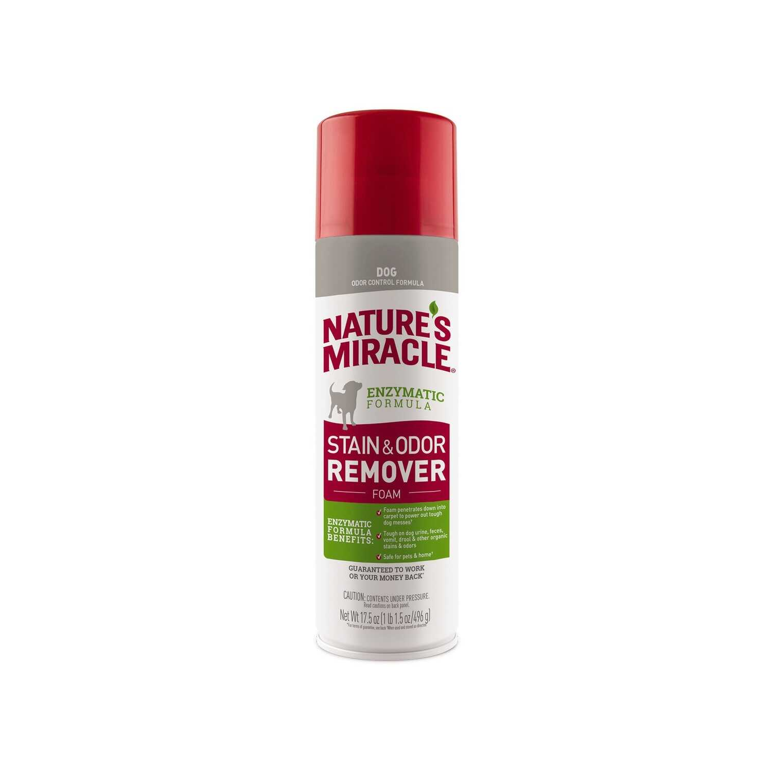 Nature's Miracle  Dog  Odor/Stain Remover  17.5 oz.