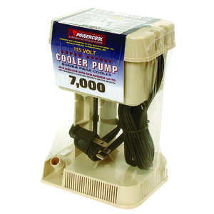 Dial  Tan  Evaporative Cooler Pump  Plastic