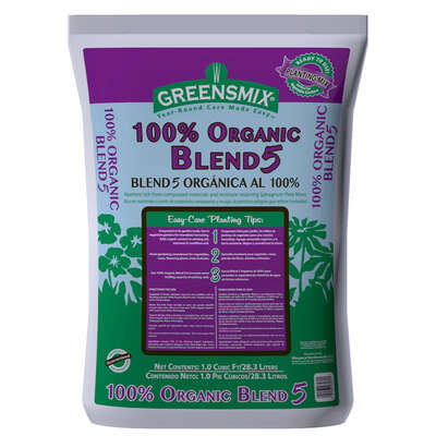 Greensmix  Blend 5  Organic Compost  1 cu. ft.
