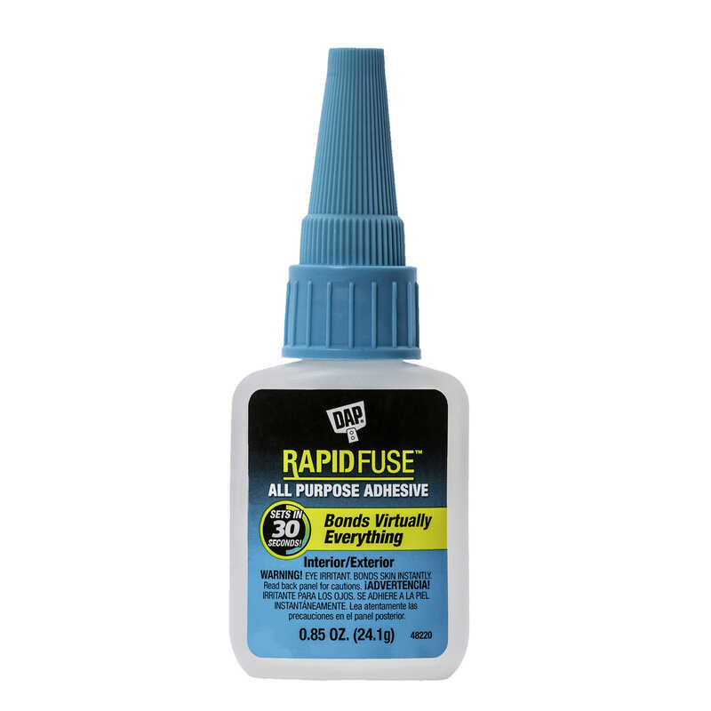 DAP  RapidFuse  High Strength  Glue  All Purpose Adhesive  .85 oz.