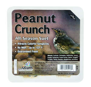 Heath  Peanut Crunch  Songbird  Suet  Beef Suet  11.25 oz.