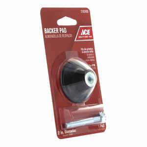 Ace  2 in. Dia. x 1/4 in.   Rubber  Backing Pad  25000 rpm 1 pc.