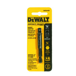 DeWalt  Impact Ready  High Speed Steel  Socket Adapter  1 pk