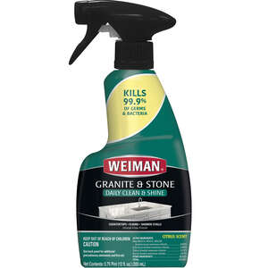 Weiman  Citrus Scent Granite Cleaner and Polish  12 oz. Spray