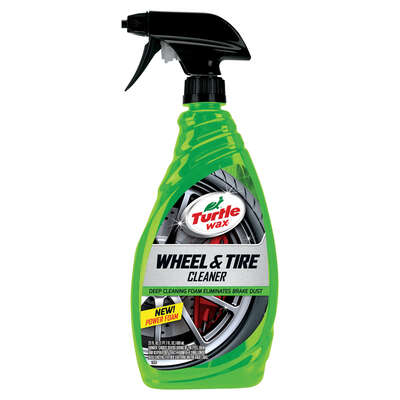 Turtle Wax  Performance Plus  Foam  Tire and Wheel Cleaner  23 oz.
