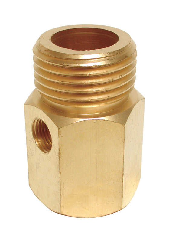 Dial  Brass  Orange  Adapter