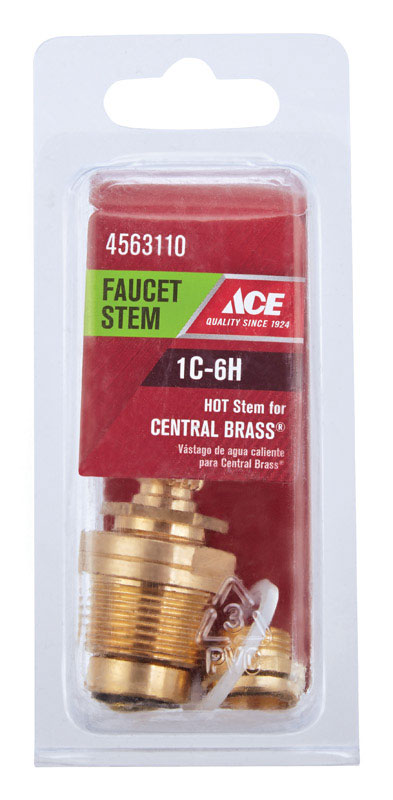 Ace  Low Lead  Hot  1C-6H  Faucet Stem  For Central Brass