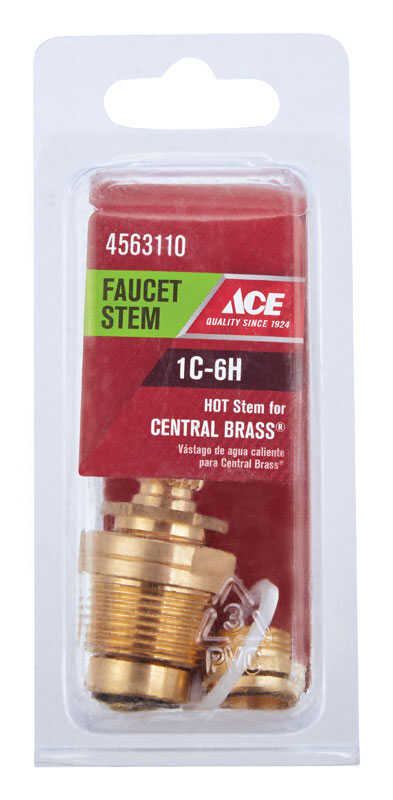 Ace  Hot  1C-6H  Faucet Stem  For Central Brass