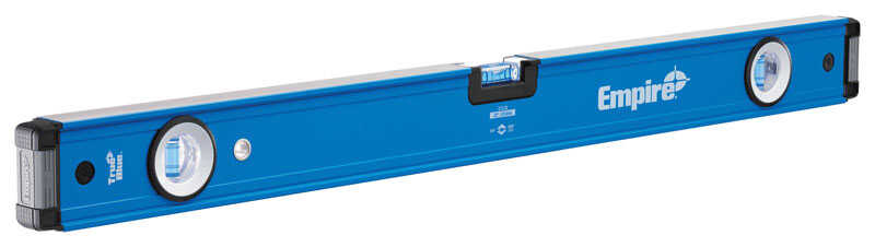 Empire  True Blue  32 in. Aluminum  Box  Level  3 vial Blue  1 pc.