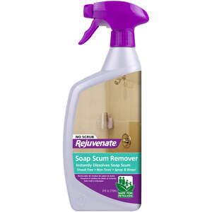 Rejuvenate  No Scent Shower and Tile Cleaner  24 oz. Bottle