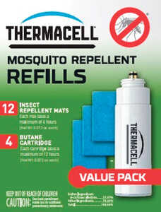 Thermacell  Insect Repellent Refill  Cartridge  For Mosquitoes/Other Flying Insects 0.4 oz.
