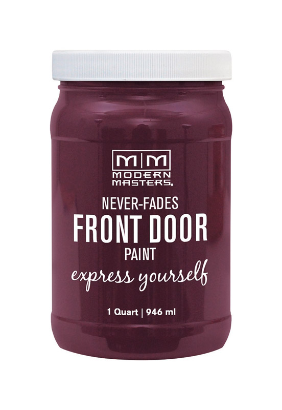 Modern Masters  Door Paint  Satin  Playful  Front Door Paint  1 qt.
