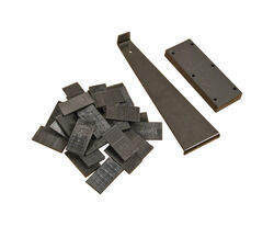 Roberts 3 in. H x 4 in. W x 13 in. L Metal Flooring Installation Kit 30 pc.