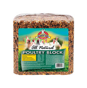 Kalmbach Feeds  Layer Feed  Block  For Chickens 25 lb.