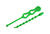 Gardner Bender 18 in. L Green Beaded Cable Tie 10 pk
