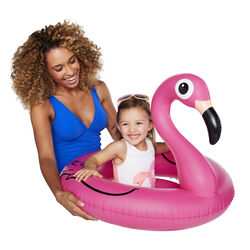 BigMouth Inc.  Pink  Vinyl  Inflatable Flamingo  Baby Float