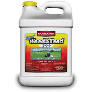 Gordons  Weed and Feed  Concentrate  2.5 gallon gal.