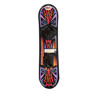 Paricon  Molded Plastic  Snowboard  43 in.