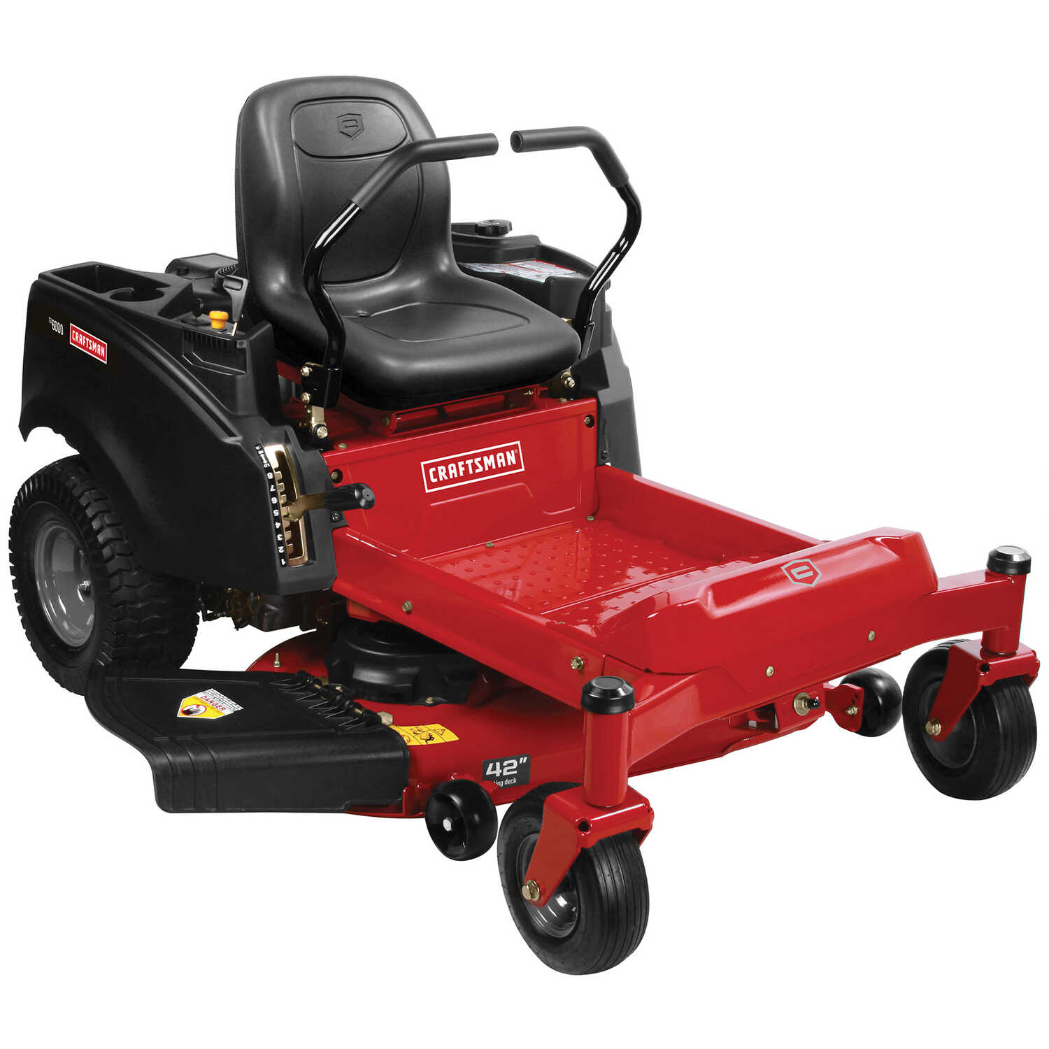 Craftsman  42 in. W 724 cc Riding  Lawn Tractor  Mulching Capability