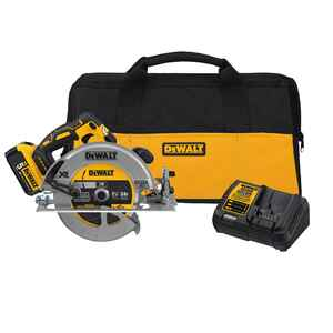 DeWalt  20V MAX XR  7-1/4 in. Cordless  Circular Saw  Kit  5200 rpm