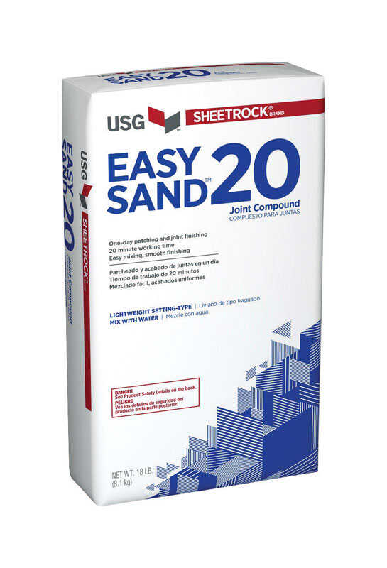 Sheetrock  Natural  Easy Sand  Joint Compound  18 lb.